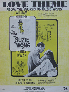 Love Theme from The World of Suzie Wong Sheet Music