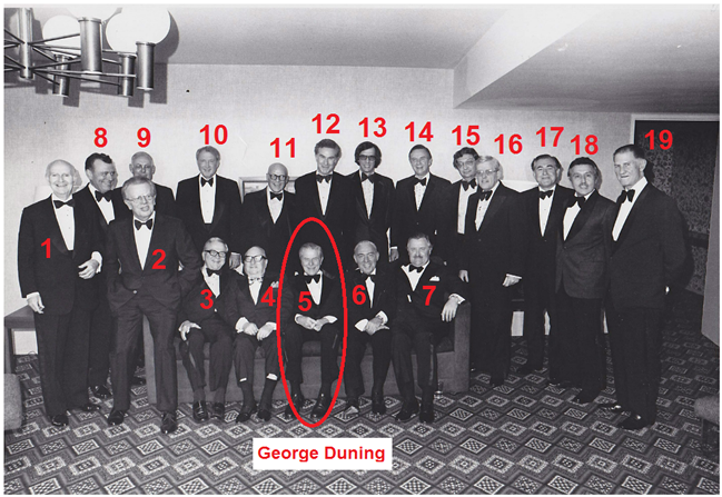 George Duning White House
